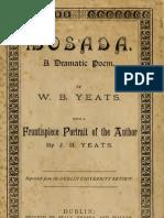 Mosada - A Dramatic Poem by W. B. Yeats