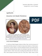 Excursions into Female Portraiture