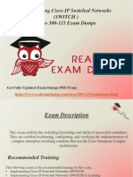 Get Valid 300-115 Exam Study Material - Cisco 300-115 Braindumps RealExamDumps
