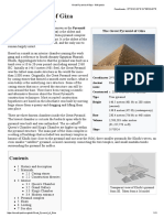 Great Pyramid of Giza - Wikipedia