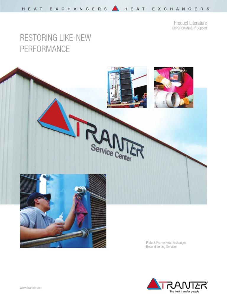 parts-service-brochure.pdf | Heat Exchanger | Adhesive