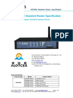 AR7088 Router Standard Specification