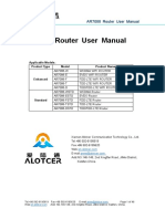 Xiamen Alotcer AR7088 Router User Manual