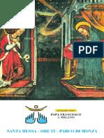 Immaginetta Madonna delle Grazie - Monza