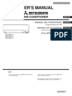 Manual Aire Acondicionado Mitsubishi Rlc012a007a_spanish