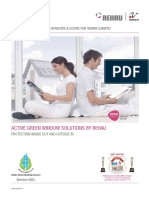 Rehau Upvc Windows & Doors - Active Green window Solution