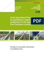 FAO GAP for Greenhouse Vegetable Production in SEE Countries