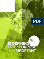 Is Defining Your Purpose Important