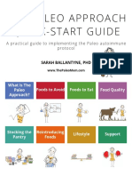 The Paleo Approach Quick Start Guide Sarah Ballantyne