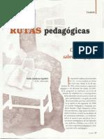 2000 ARTÍCULO CÁRDENAS Agudelo, Stella. Construyendo Saber Pedagógico. Rutas Pedagógicas