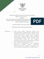 PMK-238~PMK.02~2015 Tata cara pengajuan kontrak tahun jamak multi years