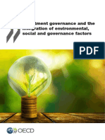 Investment Governance and the Integration of ESG Factors