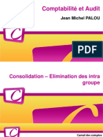 Opérations de Consolidation - Eliminations Intra Groupe