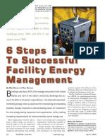 6 Steps to Successful Energy Management-ASHRAE