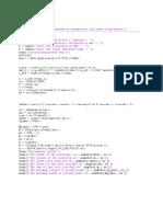 Code Matlab Juste