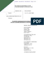 American Textile v. Hollander Sleep - Motion to Dismiss