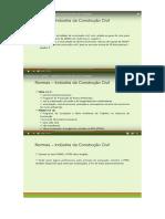Modulo 01 - Indústria Da Construção Civil - Segurança Do Trabalho