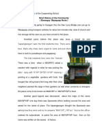 Part 11 Description of the Cooperating School