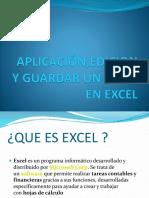 Aplicación,Edicion y Guardar Un Tema en Excel de Daniela