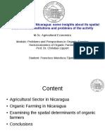 Presentation Nicaragua Francisco Mendoza