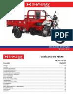 Catalogo Pecas Triciclo Cargo 200 Shineray Pecas