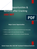 Why UGC NET? Know all career scope & Salary after UGC NET