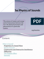 The Physics of Sounds