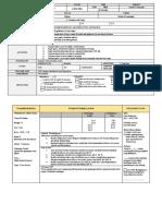 sample of lesson plan