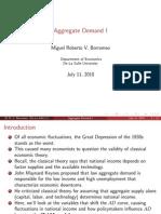 6 Aggregate Demand I