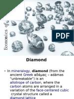 Economics of Diamond