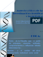 aspectos eticos de la investigacion cientfica y tecnolgica