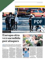 Europa Otra Vez Sacudida Por Ataques