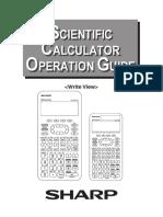 Scientific Calculator Operation Guide