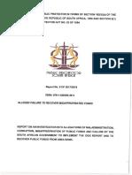 Public Protector's Report 8 of 201718 CIEX Report