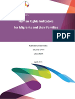 KNOMAD Working Paper 5 Human Rights Indicators for Migrants