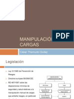 Prevención de Riesgos Laborales. Manipulacion Manual de Cargas