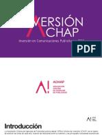 Documento Inversion Publicitaria 2016 Achap