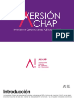 Documento Inversion Publicitaria 2016 Achap