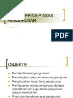 Asas Pengurusan