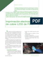Imprimación Electosoldable Cobre