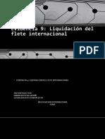 Evidencia 9 Liquidacion de Flete Internacional
