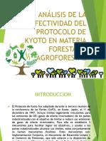 Análisis de La Efectividad Del Protocolo de Kyoto