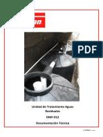 Unidad de Tratamiento Aguas Residuales DMF-012