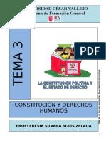 Constitucion Politica y Estado de Derecho