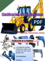 Clasificacion de Las Distintas Maquinas[1]