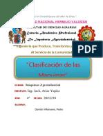 Clasificacion de Las Maquinas( Maquinas)[1]