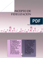 Concepto de Fidelización