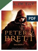 Peter v Brett Demon 1 Omul Pictat v 1 0