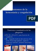 Trastornos Dehemostasia