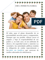 Derecho a Tener Una Familia